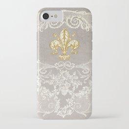 Fleur De Lis iPhone Case
