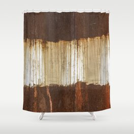 Rust 04 Shower Curtain