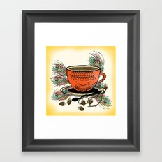 My Tea Framed Art Print