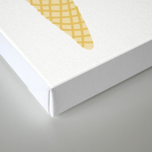 Ice cream cone  Canvas Print