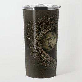 Quails Eggs and Nest Travel Mug