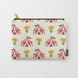 Circus With Performing Elephants Carry-All Pouch