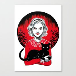 Teenage Witch Canvas Print