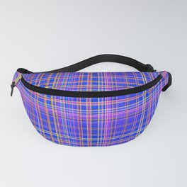 Straight crossed Lines in multiple colors - PLB319 Fanny Pack