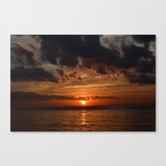 Before the Dawn Canvas Print