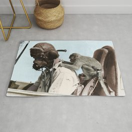Colourised: North African Campaign Rug