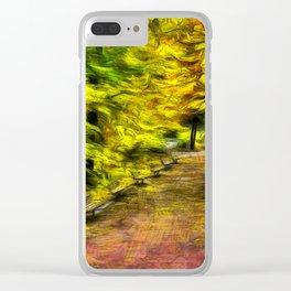 Path through Fall Clear iPhone Case