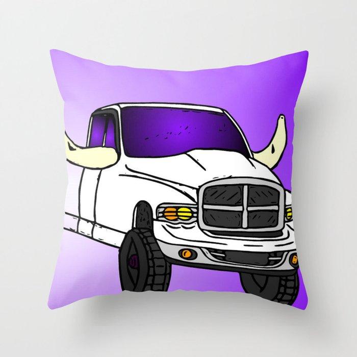 Cummins Throw Pillow