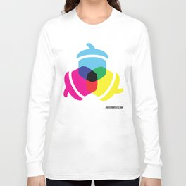 Primaries Nuts color Long Sleeve T-shirt