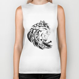 Lion Fierce Biker Tank