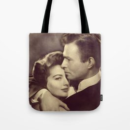 Ava Gardner and James Mason Tote Bag