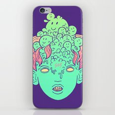 brain parasites iPhone Skin