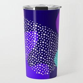 Darkness abstract pattern Travel Mug