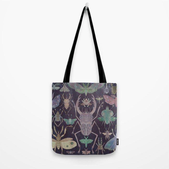 Entomologist's Wish (The Neon Version) Tote Bag