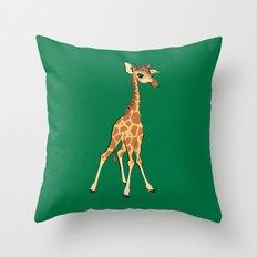 You're Having A Giraffe! Throw Pillow