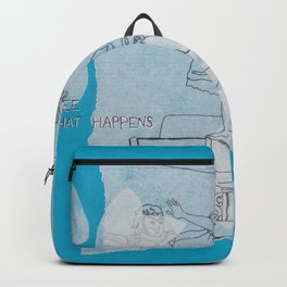 see what happens Backpack