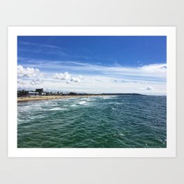 Pacific Beach - San Diego Art Print