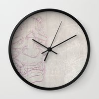 blur Wall Clocks featuring Blur by Last Call
