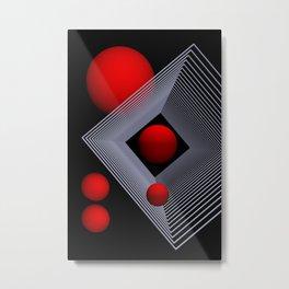 elegance of geometry -106- Metal Print
