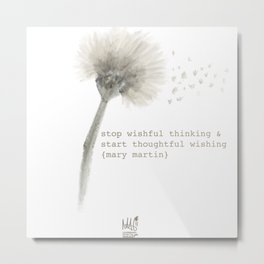 Quotes • Whimsy Wishes Metal Print