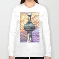 moscow Long Sleeve T-shirts featuring Moscow Sun by HenryMangelsdorf