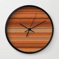 arizona Wall Clocks featuring Arizona by Lyle Hatch