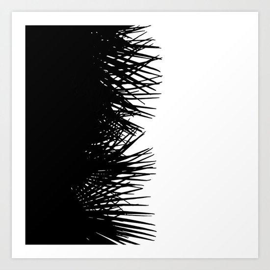 Side Fringe Art Print