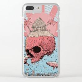 Skull Island Clear iPhone Case