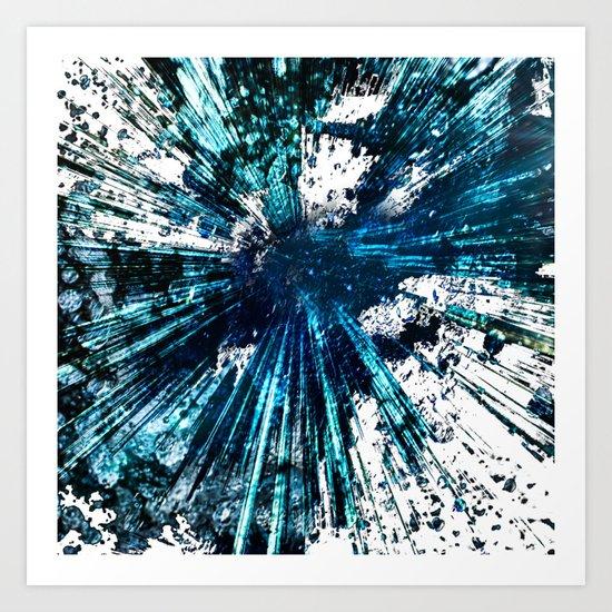 Universum Greed mod Art Print