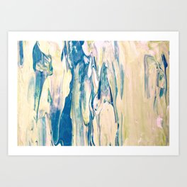 Ocean Foam Art Print