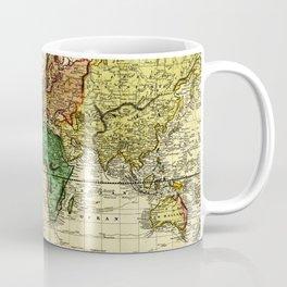 Vintage Map of The World (1823) - Stylized Coffee Mug
