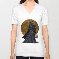 sandman V-neck T-shirts featuring Sandman by Sloe Illustrations