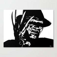 Freddy Krueger #1 Canvas Print