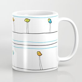 birds on wire Coffee Mug