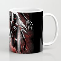 guardians of the galaxy Mugs featuring Legendary Guardians by Fuacka