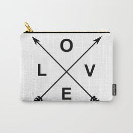 Love and Arrows Carry-All Pouch