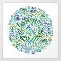 Intricate Nature  Art Print