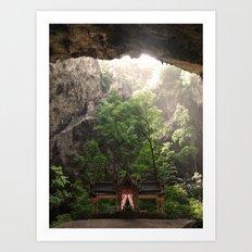 Cave Temple Art Print