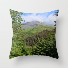 Summer Greens! Throw Pillow