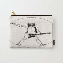 Guitar Man and Da Vinci Carry-All Pouch