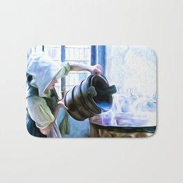 Chores of a chambermaid Bath Mat