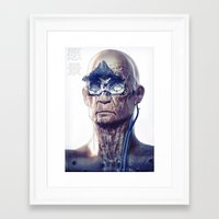 android Framed Art Prints featuring Android by Ben Mauro