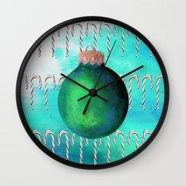 The Xmas Bulb Wall Clock