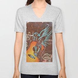 Opry Blue Bird Unisex V-Neck