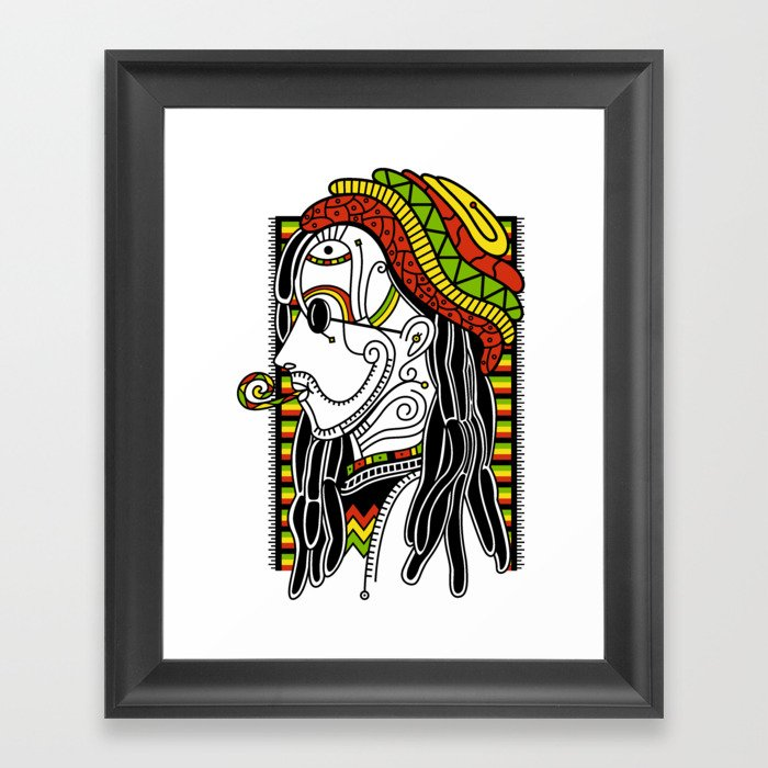 Rasta Framed Art Print