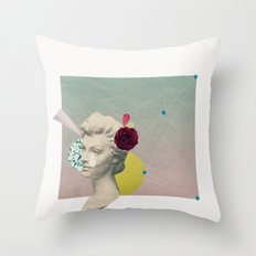 you can't connect the dots looking forward Throw Pillow