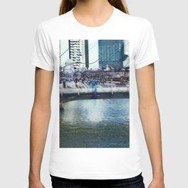 Light Bridge - Light Painting T-shirt