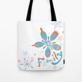 Cherry Blossom Family Tote Bag