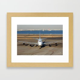 All Nippon Airways - ANA Framed Art Print