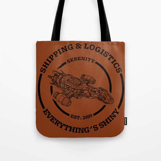 SERENITY SHIPPING AND LOGISTICS Tote Bag
